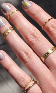 great stacked rings inspo
