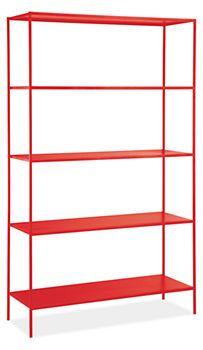 Slim Shelves in Colors - Bookcases & Shelves - Living - Room & Board