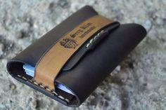 Etsy の Leather Wallet-Men Wallet-Leather Card Holder by sergklim