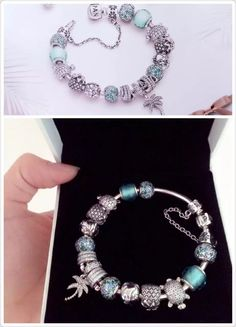 50% OFF!!! $379 Pandora Charm Bracelet. Hot Sale!!! SKU: CB01065- PANDORA Bracelet Ideas
