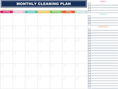 4 daily tasks + 1 deep cleaning task + 4 weekly tasks = a clean home in minimal time