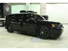 Blacked out Ford Fle