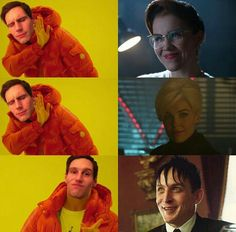Kristen Kringle: NO!  Isabella: NO!  Oswald Chesterfield Cobblepot: HELL YEAH!!!!