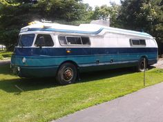 1945 Flixable Clipper looking for a new home. It is an uncompleted RV conversion and needs lots of work.  5K and is located in Hampden Maine.