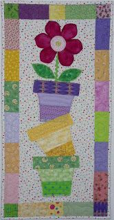 Lettes Quilts and Curiosities is the blog of Colette DeGroot, a member of Quiltmaker's 2013 Scrap Squad. She recently completed this Spring Skinnie from the March/April issue of Quiltmaker. Issue is available in print or digital format at quiltandsewshop.com.