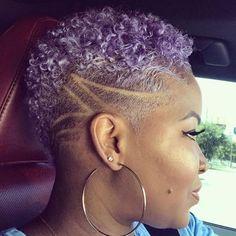 Natural Hair Mohawk, Natural Hair Short Cuts, Short Natural Haircuts, Tapered Natural Hair, Natural Afro Hairstyles, Short Hair Cuts, Natural Hair Styles, Protective Hairstyles, Braided Hairstyles