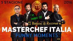 """MASTERCHEF ITALIA 5 (#4) I BAGNINI DI RICCIONE E... """"Funny Moments"""""""