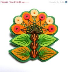 Hey, I found this really awesome Etsy listing at https://www.etsy.com/listing/164483552/summer-sale-ingrid-felt-brooch-pin-with