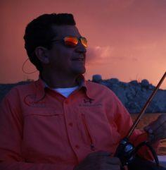 Atardecer en bacurato, Sinaloa. Pescando Lobinas Trofeo