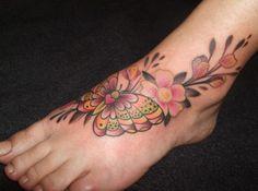 foot tattoos | Foot tattoo