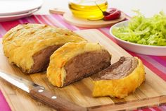 Fraldinha assada com crosta de batata