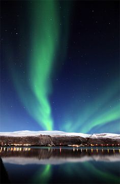 Nordlys over Lakselv