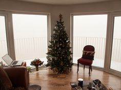 Pea soup fog on the 28th December......!