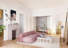 #AD - feminine yet minimalist sitting room