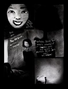 Epitome - Page 2. Charcoal+chinese ink+photoshop.