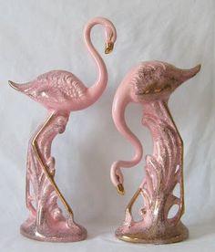 .flamingo figurines