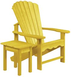 Generations Adirondack Chair with Table Set
