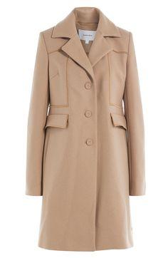 CARVEN Wool Coat. #carven #cloth #short coat