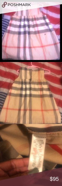 Little girl Burberry dress Excellent condition Little girl Burberry dress worn twice. Burberry Dresses