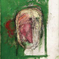 Erased Self-Portrait, oil on canvas  William Utermohlen