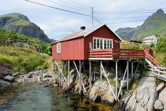 A i Lofoten #Lofoten #Norvège
