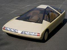"scifiseries: ""Back in 1980, Citröen had a somewhat amusing idea of the future "" Weird Cars, Cool Cars, Crazy Cars, Mazda, Dream Cars, Psa Peugeot Citroen, Pontiac, American Graffiti, Retro Futuristic"