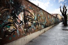 Alice Pasquini - Rome (around the corner from the Felt Music Club)