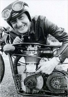 Burt Munro 25 March 1899 - 6 January 1978 The man. The myth. The legend.