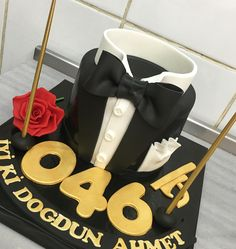 007 james bond birthday cake
