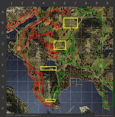 20 Best WoT 1.0 Maps images | Blue prints, Cards, Map