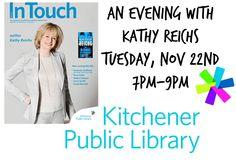 Kathy Reichs (@KathyReichs)   Twitter