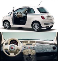 Fiat 500 Cabrio, Fiat 500e, New Fiat, Cute Cars, Small Cars,