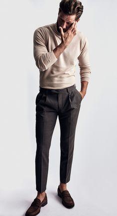 Mens Fashion Smart – The World of Mens Fashion Mode Masculine, Suit Fashion, Fashion Outfits, Fashion Menswear, Classy Mens Fashion, Menswear Trends, Fashion Hair, Fashion Styles, Fashion Clothes