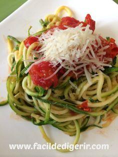 Spaghetti ¡sin pasta!