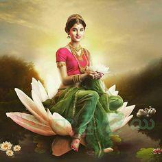 Photography Sketchbook Colour New Ideas Saraswati Goddess, Goddess Art, Goddess Lakshmi, Durga, Indian Women Painting, Indian Art Paintings, Indian Artist, Krishna Painting, Krishna Art