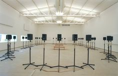 Janet Cardiff, Forty part motet (2001) on ArtStack #janet-cardiff #art