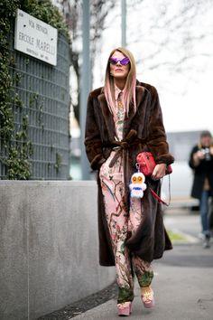 Fall 2016 Milan Fashion Week Street Style Day 4