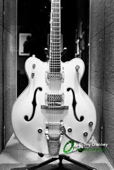 Phil Lynott's Gretch White Falcon
