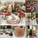 Decorating my sunroom for Christmas typically entails blending indoor/outdoor decor, as our sunroom is used year-round with climate contro. Christmas Tablescapes, Holiday Decorations, Christmas Vacation, Best Dishes, Sunroom, Whimsical, Centerpieces, Table Settings, Gift Wrapping