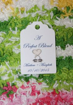 10 Tags for favors Great for Weddings or Showers by KreativeBehr