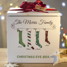 Lovely Night before Christmas personalised Box!! Made by pictureproud.co.uk