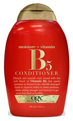 Ogx Conditioner Vitamin B5  Moisture 13oz 3 Pack >>> You can get additional details at the affiliate link Amazon.com.