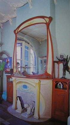 Lille art nouveau and fireplaces on pinterest for 82 rue brule maison lille