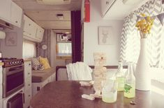 RV makeover - Motor Home Before and After