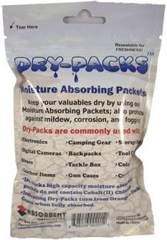 Lot of 100x Dry-Packs 5gm Indicating Silica Gel Packet