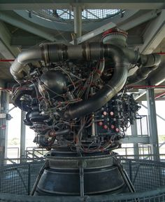 Post with 160 views. Space shuttle engine at one of the launch viewing platforms at KSC x [OC] Rocket Engine, Space Shuttle, Cyberpunk, Nasa, Platforms, Planes, Trains, Automobile, Engineering