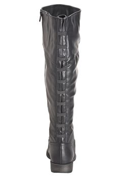 Animal Friendly chocolate riding boots. Comes in wide width and ...