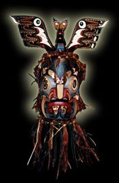 Native Indian Art -Pugwis Mask