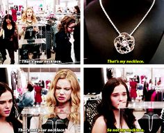 Nope. That is MY necklace...