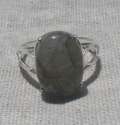 LABRADORITE Gemstone .925 STERLING Silver by CherylsStixAndStonz, $18.00